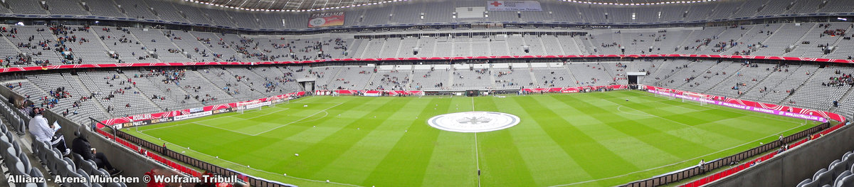 Allianz-Arena München aufgenommen am 29. Juni 2013