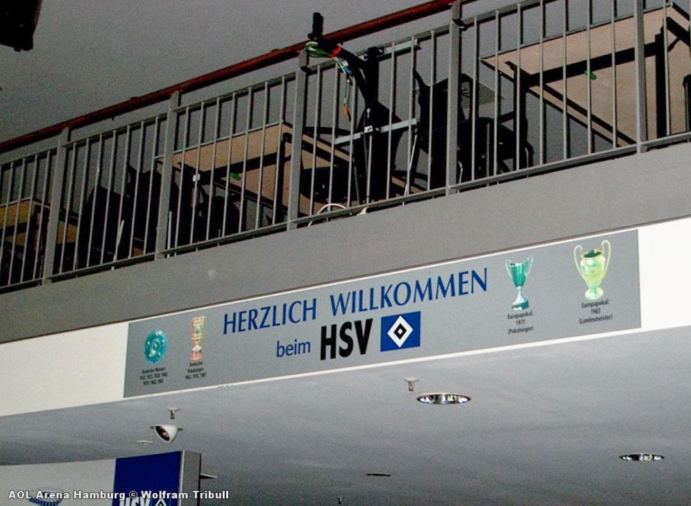 AOL-Arena Hamburg aufgenommen am 23. August 2004
