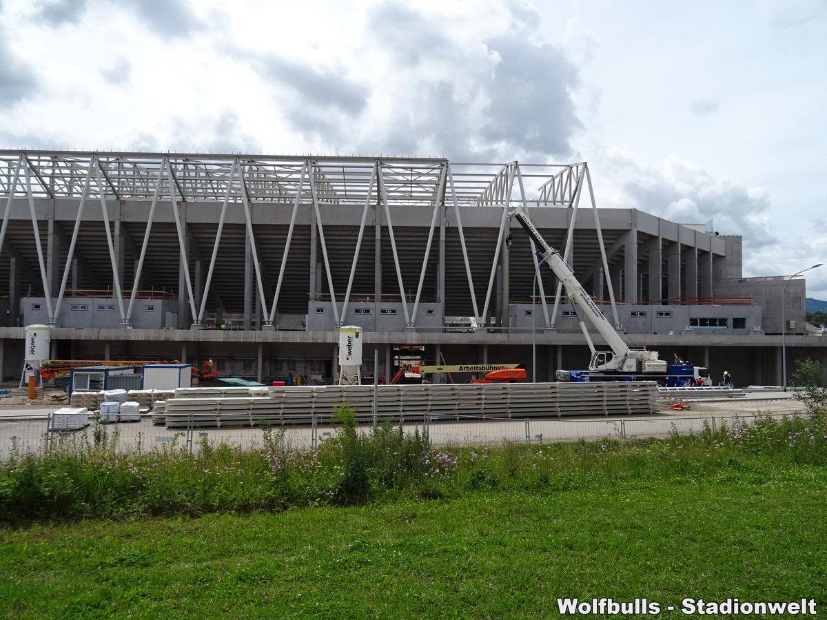 Baustelle Stadionneubau SC Freiburg aufgenommen am 15. Juni 2020