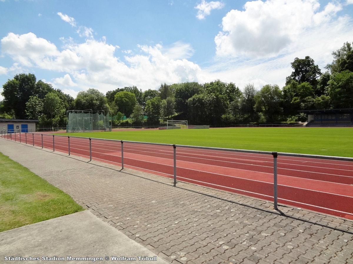 BBZ Stadion an der Bodenseestraße Memmingen aufgenommen am 10. Juni 2017