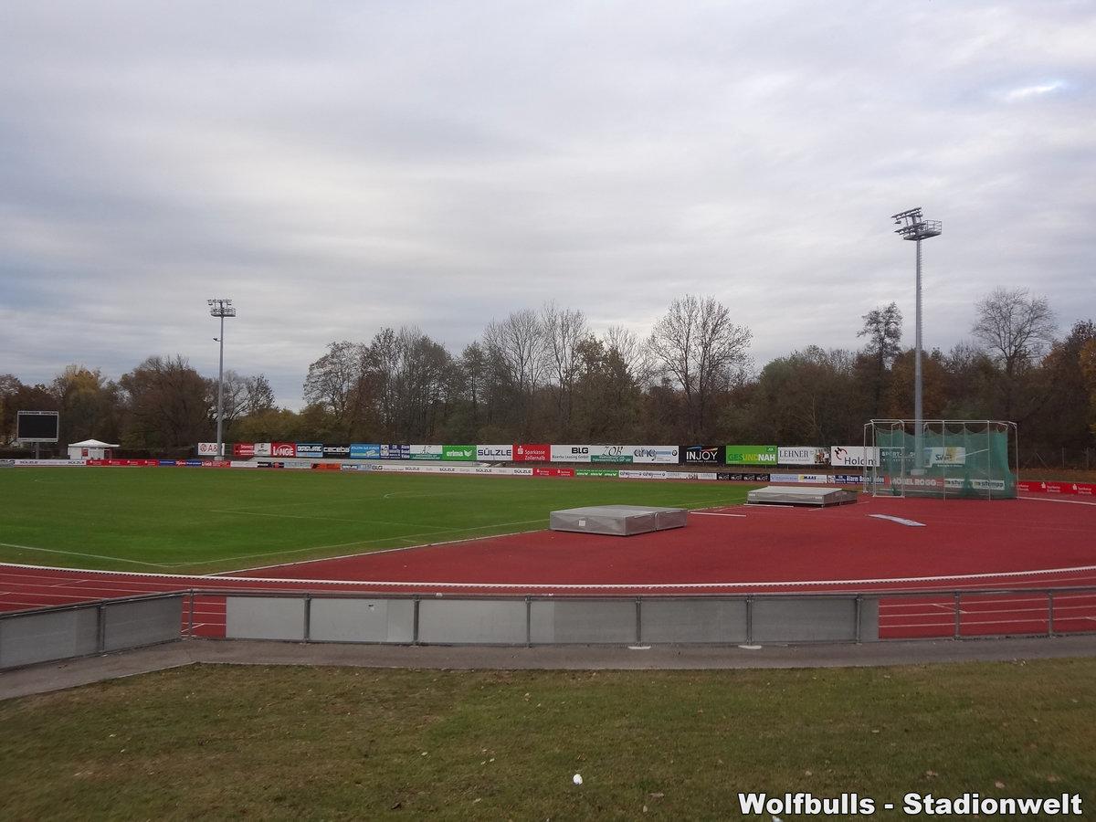 Bizerba Arena Balingen aufgenommen am 02. November 2018