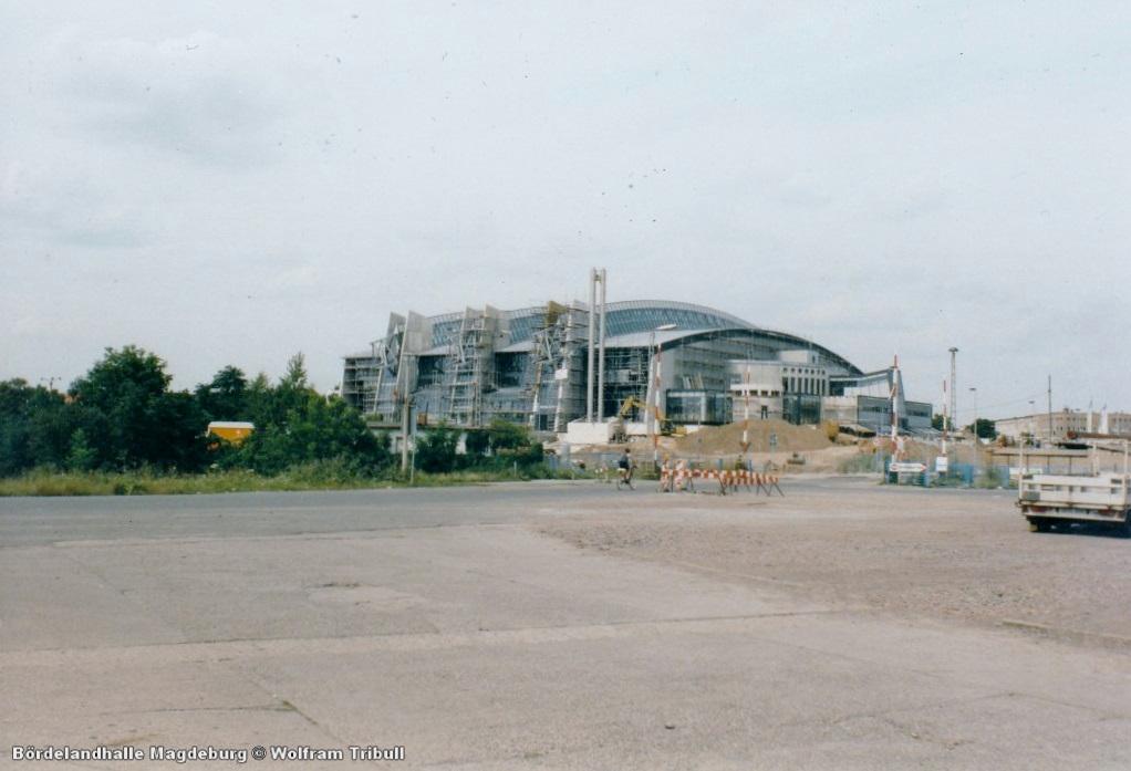 Bördelandhalle Magdeburg (GETEC Arena)