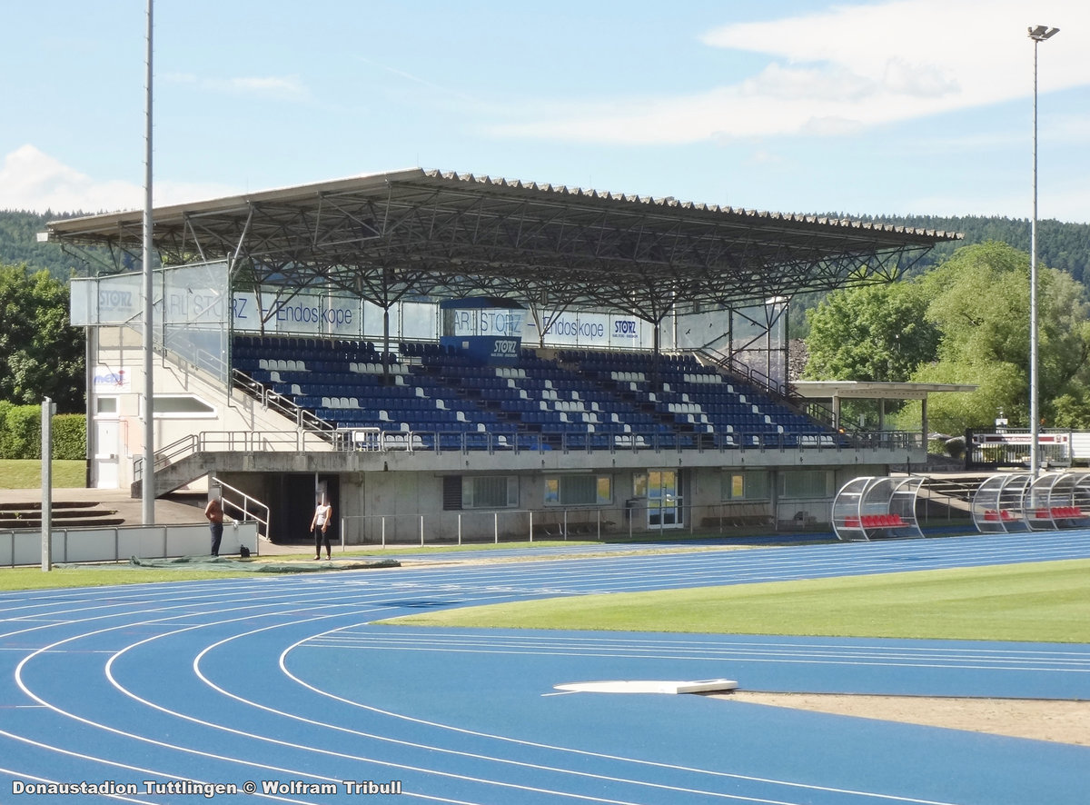 Donaustadion Tuttlingen aufgenommen am 10. Juni 2017