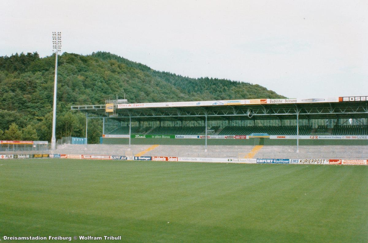 Dreisamstadion Freiburg aufgenommen im September 1993