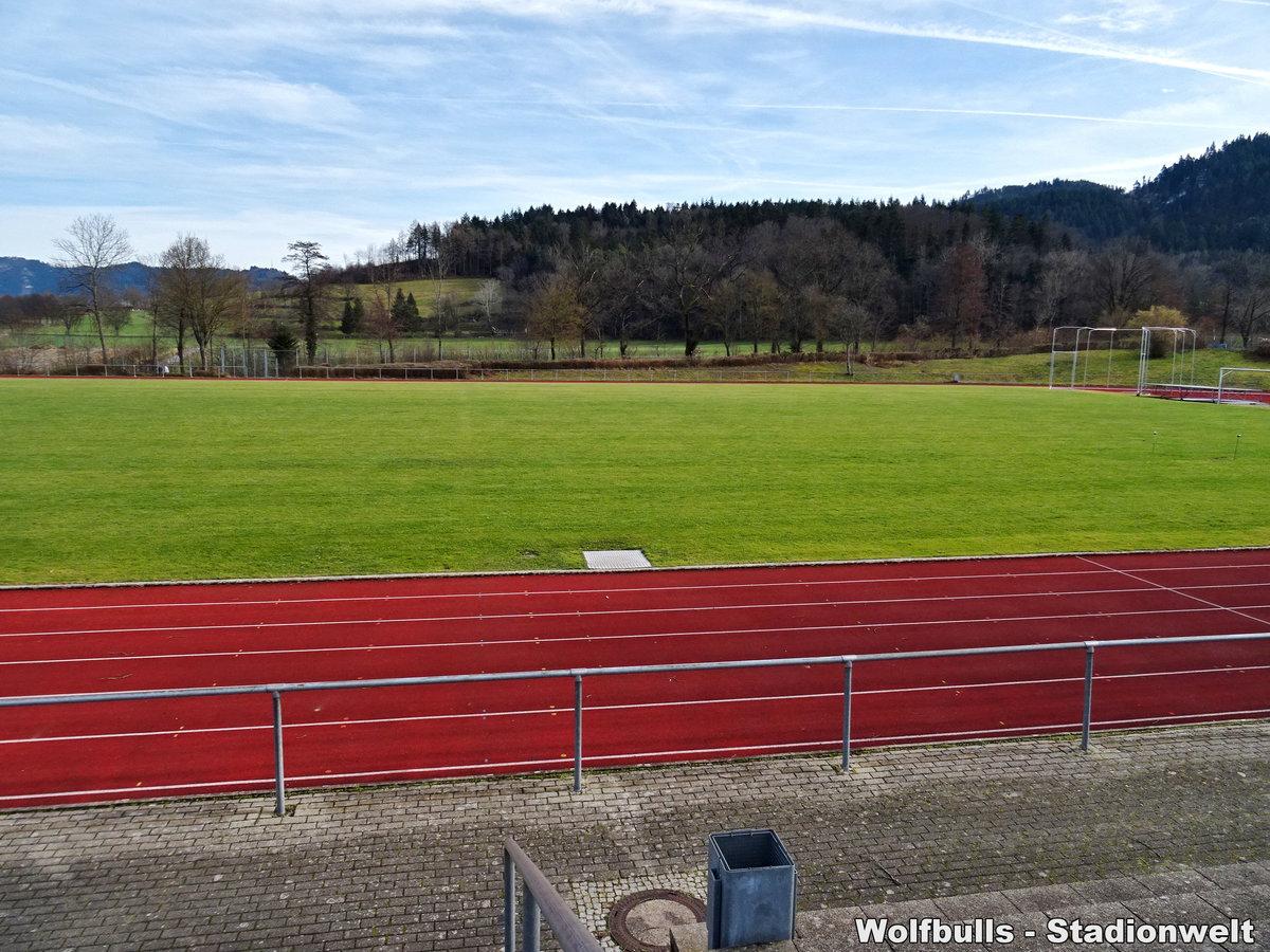 Dreisamtalstadion 1 Kirchzarten aufgenommen am 08. Februar 2020