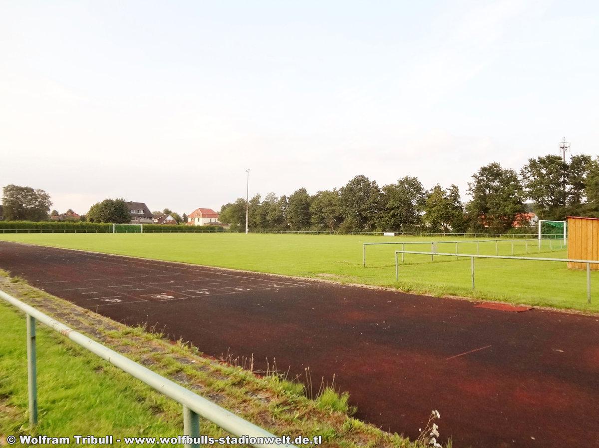 Elbestadion Wischhafen aufgenommen am 09. August 2017
