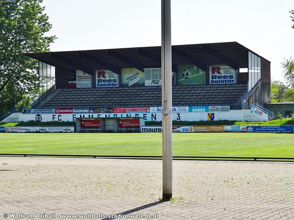 Elzstadion Emmendingen aufgenommen am 01. Mai 2019