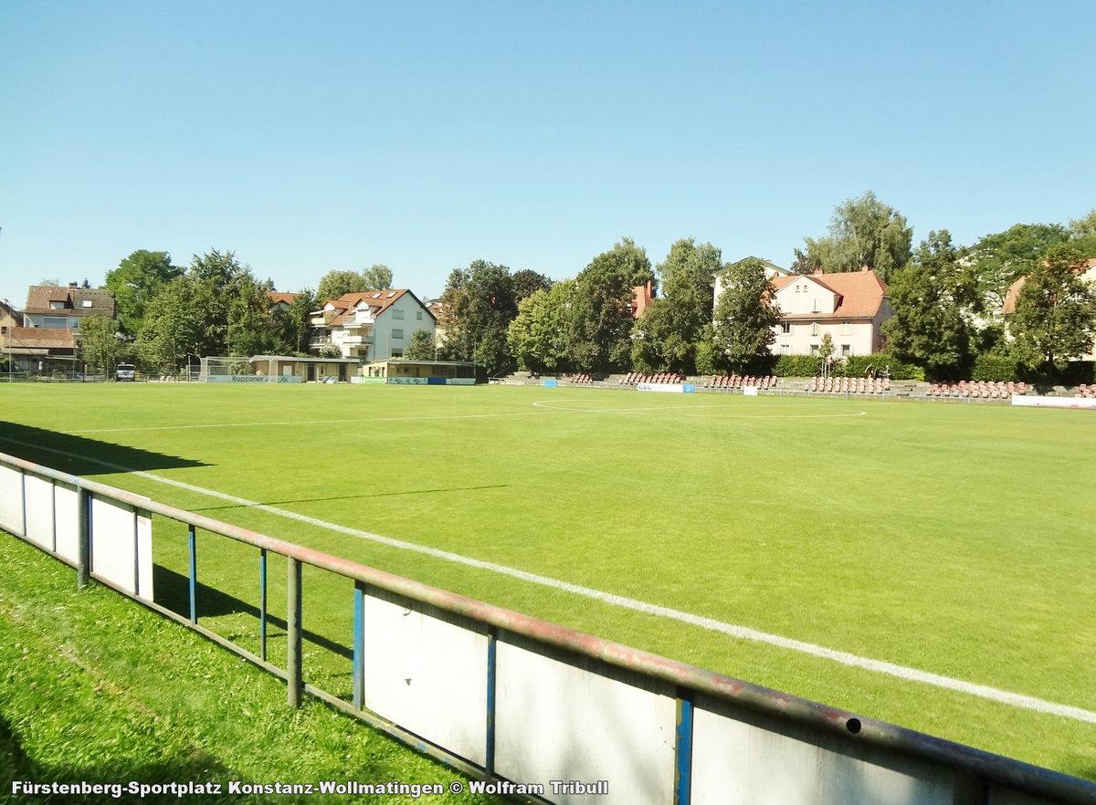 Fürstenberg-Sportplatz Konstanz-Wollmatingen aufgenommen am 27.August 2016