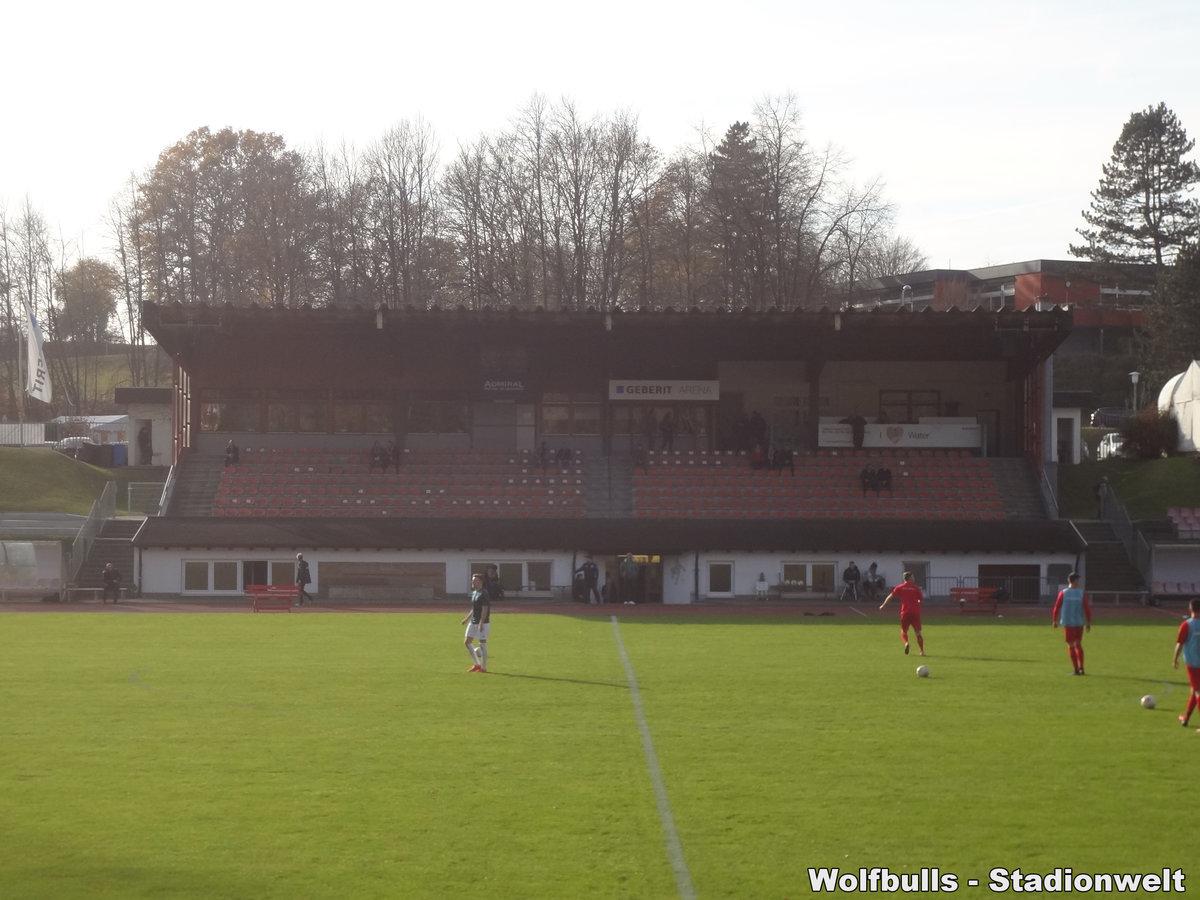 GEBERIT-Arena Pfullendorf aufgenommen am 04. November 2017