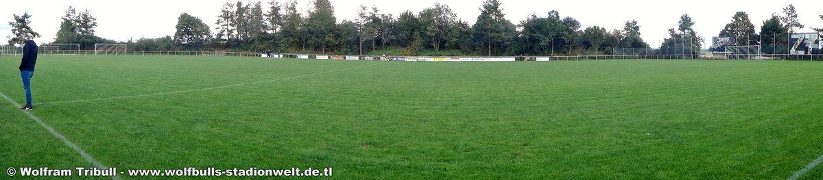 Haselnußstadion Marbach aufgenommen am 17. September 2017
