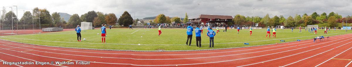 Hegau-Stadion Engen aufgenommen am 09.Oktober 2016