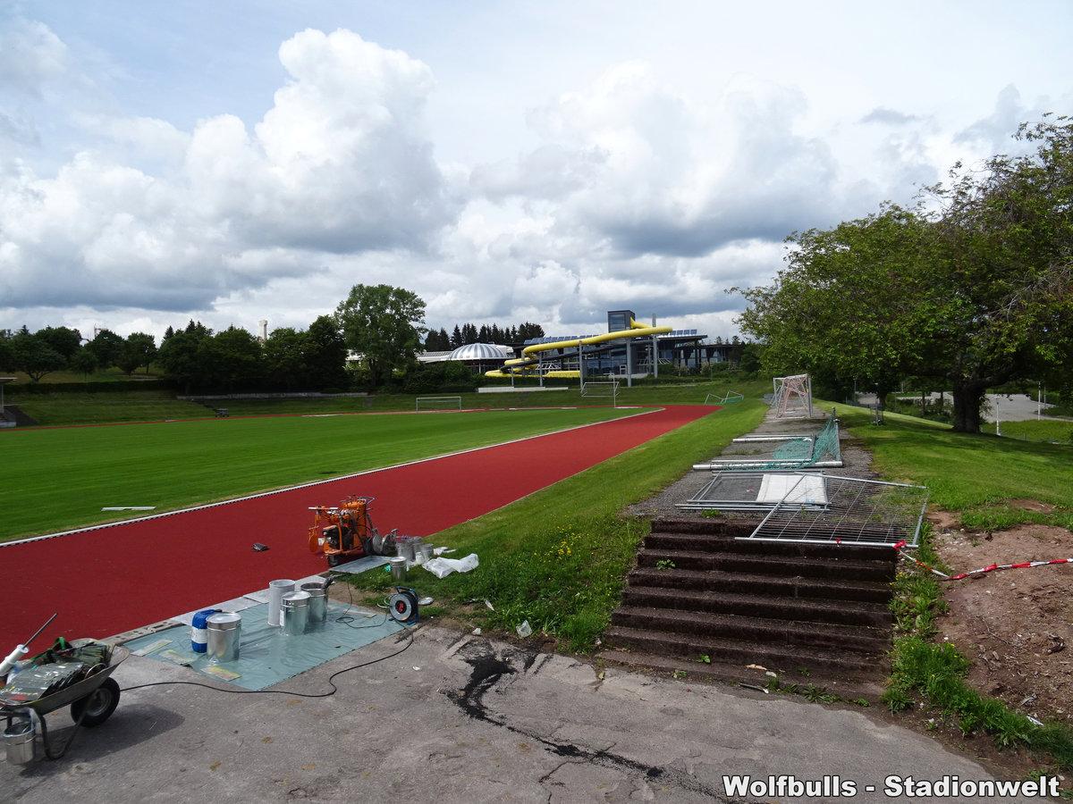Hermann-Saam-Stadion Freudenstadt aufgenommen am 15. Juni 2020