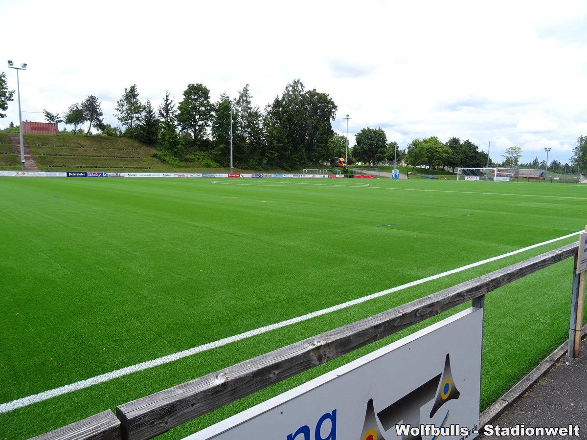 Hermann-Saam-Stadion Nebenplatz Freudenstadt aufgenommen am 15. Juni 2020