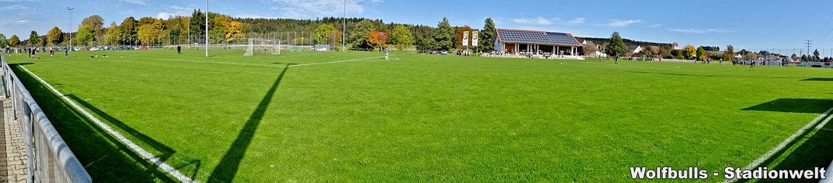 HFM-Arena Denkingen aufgenommen am 13. Oktober 2019