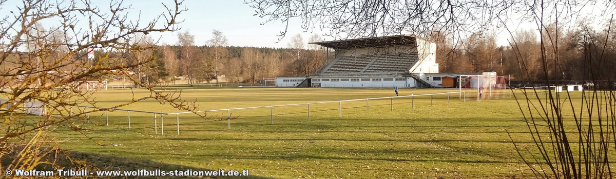 Hilben-Stadion Schwenningen aufgenommen am 24. März 2018