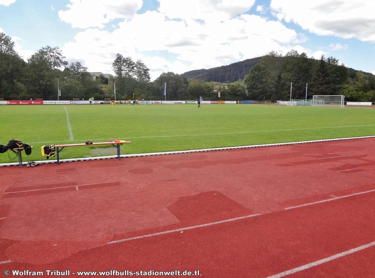 Jahnstadion Titisee-Neustadt aufgenommen am 26. August 2018