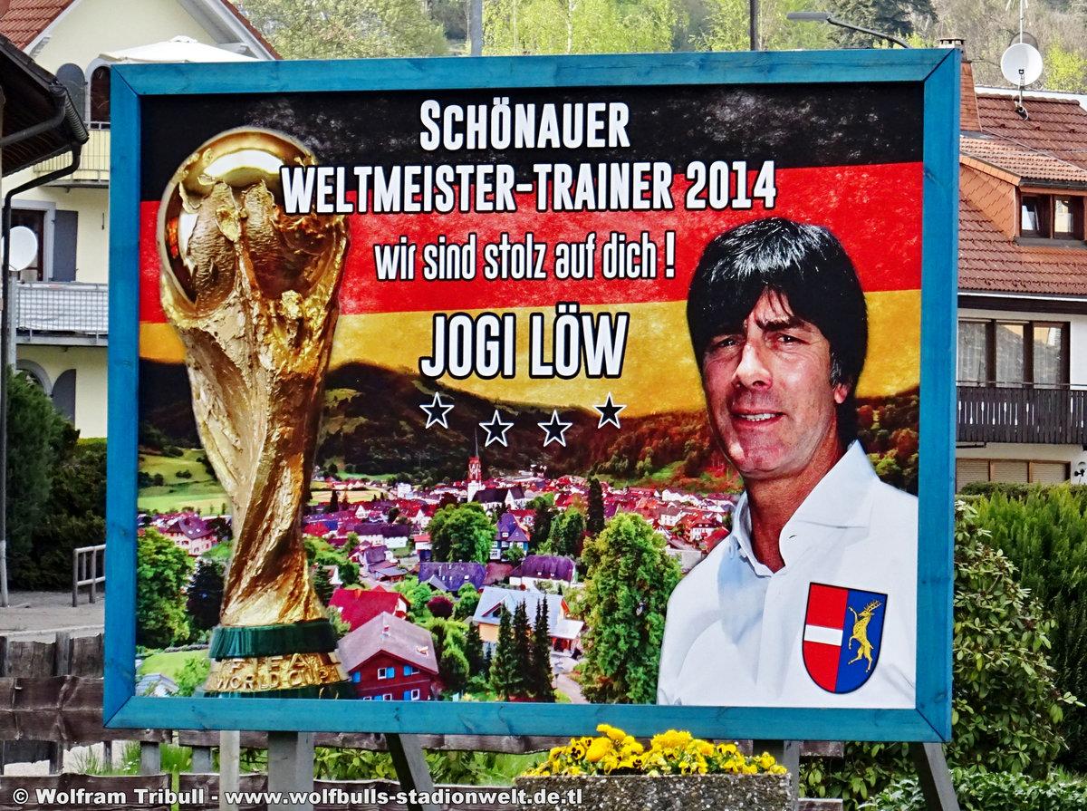 Jogi-Löw-Stadion Schönau im Schwarzwald aufgenommen am 22. April 2019