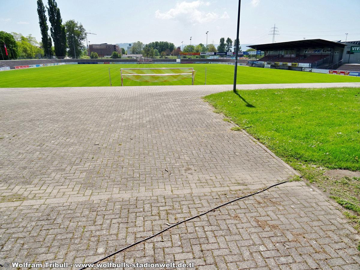 Karl-Heitz-Stadion Offenburg aufgenommen am 01. Mai 2019