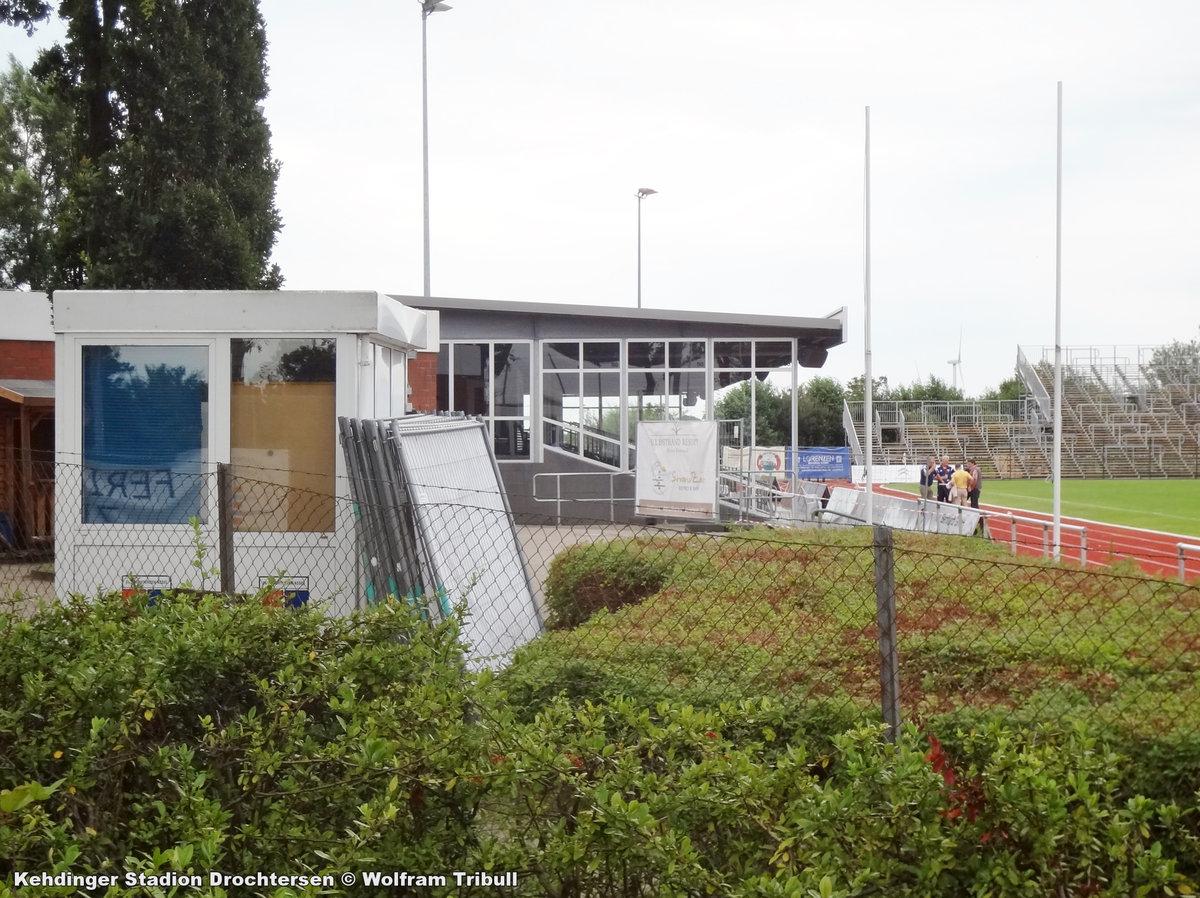 Kehdinger Stadion Drochtersen aufgenommen am 07.August 2016