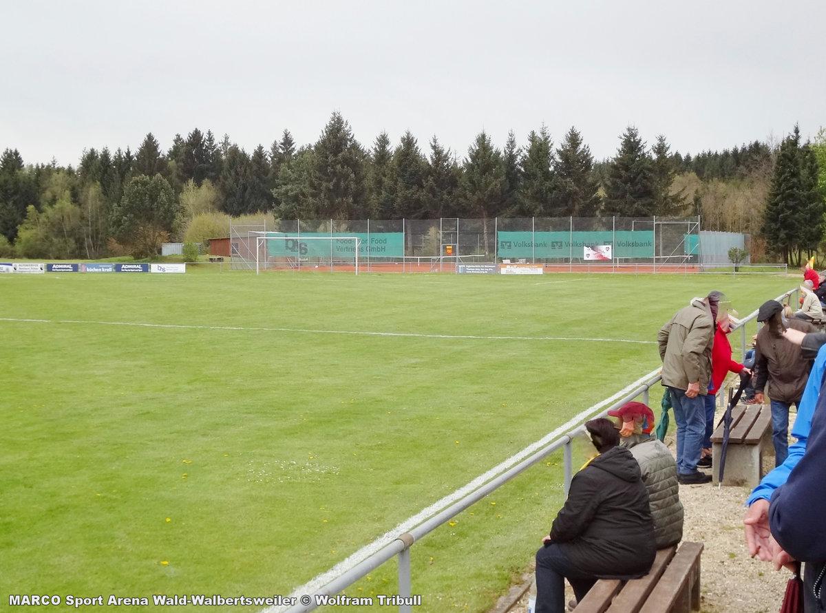 MARCO Sport Arena Wald-Walbertsweiler aufgenommen am 06. Mai 2017