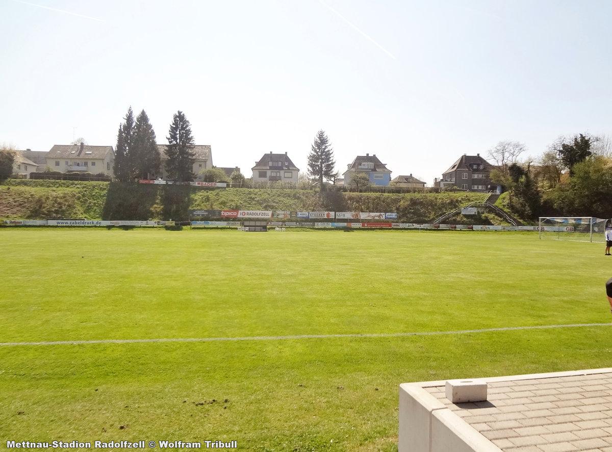 Mettnau-Stadion Radolfzell aufgenommen am 08. April 2017