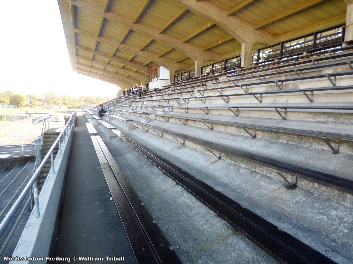 Möslestadion Freiburg aufgenommen am 19. Oktober 2010