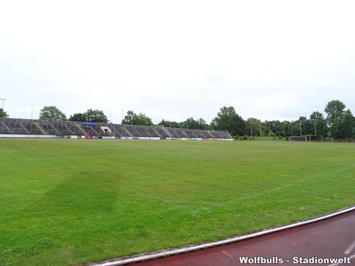 Nordseestadion Bremerhaven aufgenommen am 14. Juli 2019