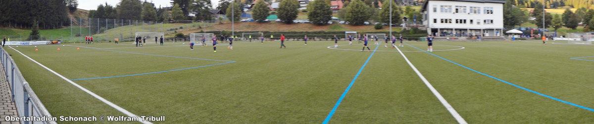 Obertalstadion Schonach aufgenommen am 16.September 2016