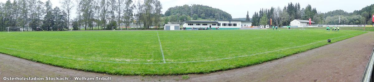 Osterholzstadion Stockach aufgenommen am 01.Oktober 2016