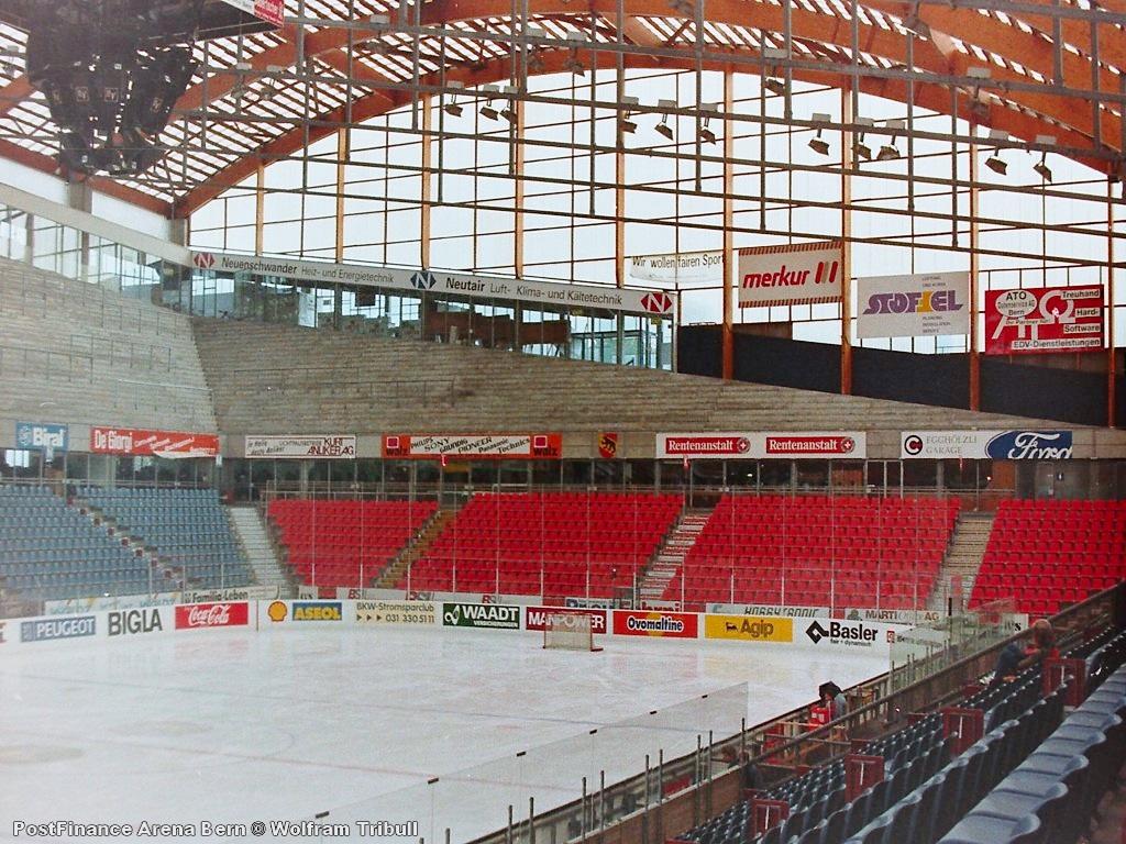 PostFinance Arena Bern aufgenommen 1993