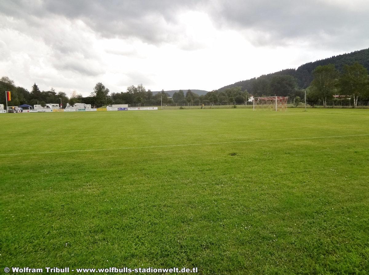 Sportanlage Am Espen Geisingen aufgenommen am 09. Juni 2018