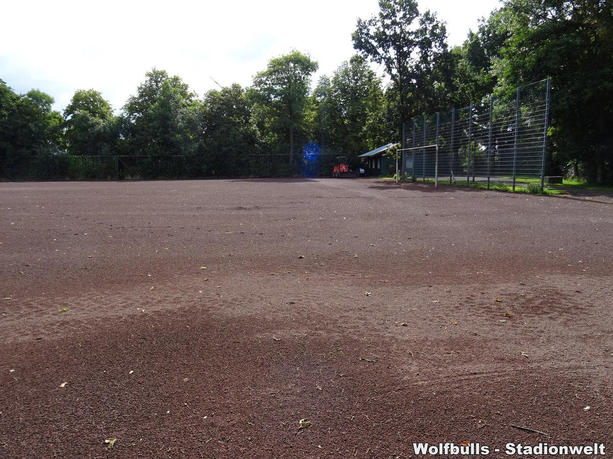 Sportanlage Anne-Frank-Schule Bremerhaven aufgenommen am 03. August 2020
