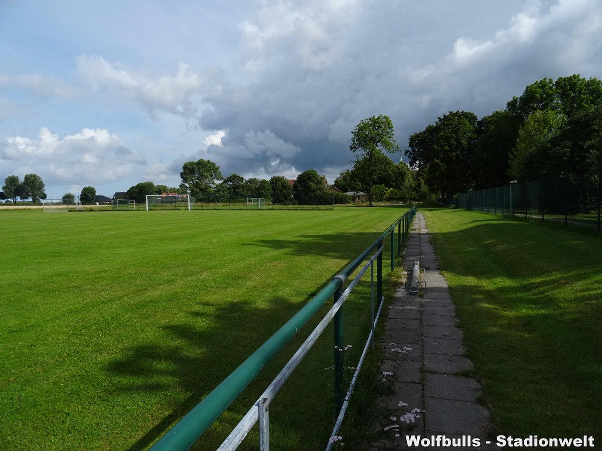Sportanlage Anne-Frank-Schule Platz 2 Bremerhaven aufgenommen am 03. August 2020
