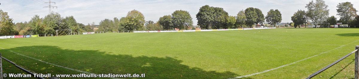 Sportanlage Gehrenstraße Obereschach aufgenommen am 16. September 2018