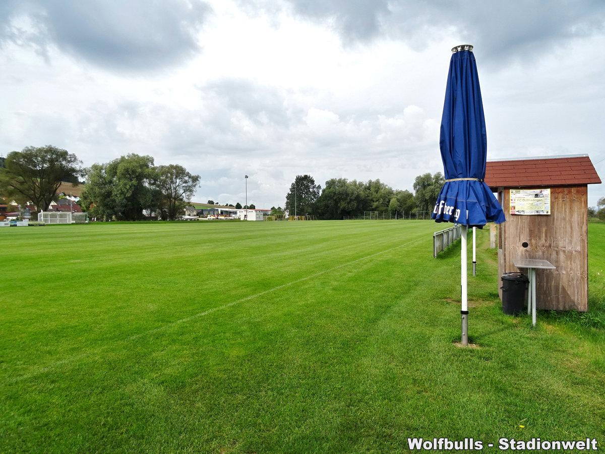 Sportanlage Gutmadingen aufgenommen am 07. September 2019