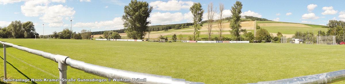 Sportanlage Gutmadingen aufgenommen am 13.August 2016