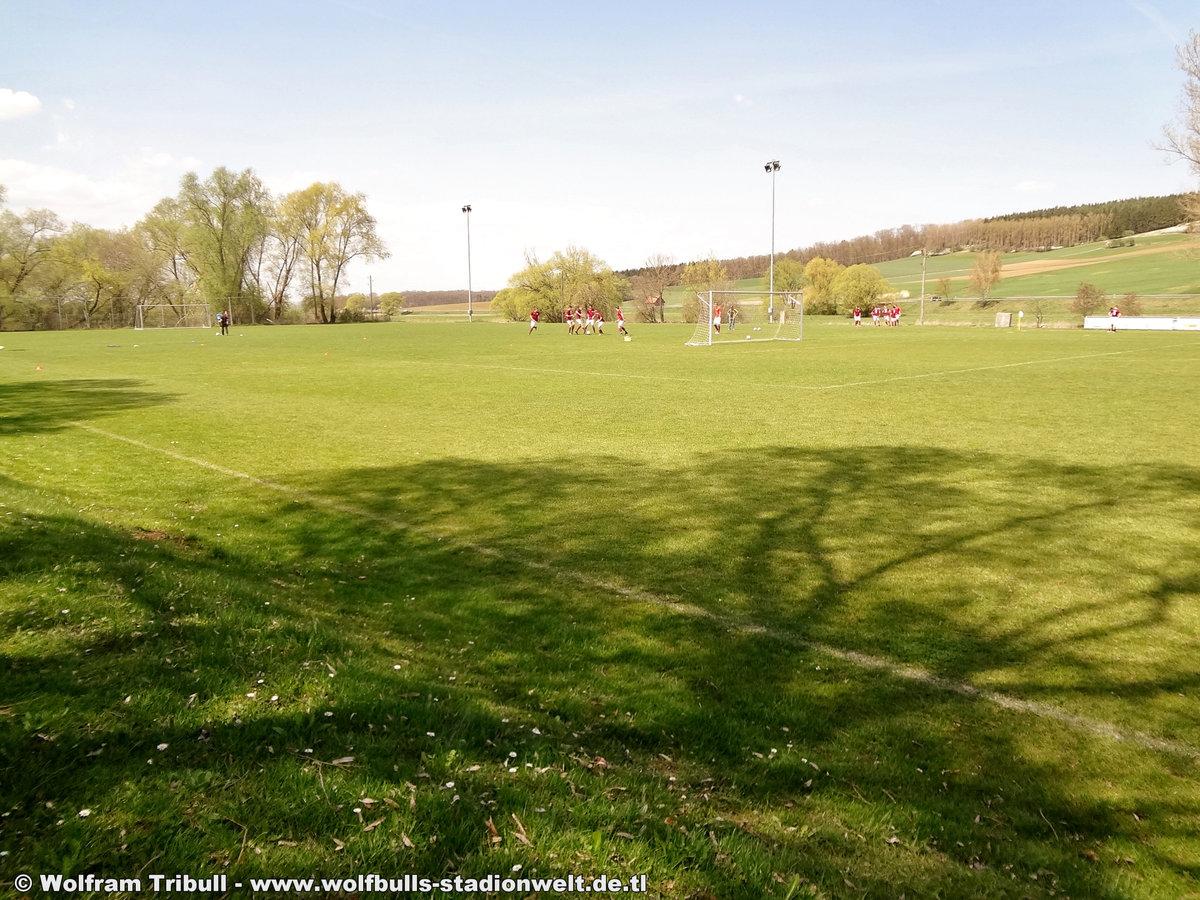 Sportanlage Gutmadingen aufgenommen am 21. April 2018