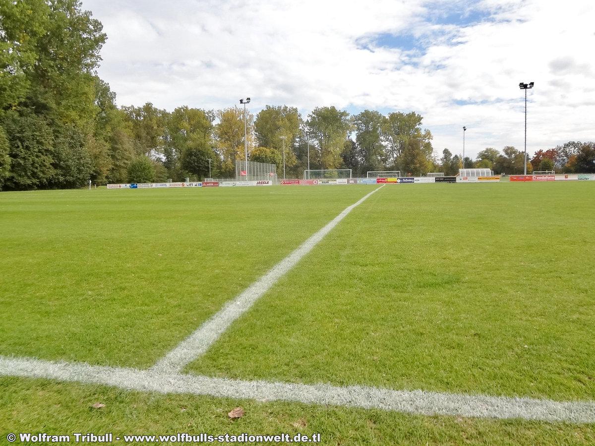 Sportgelände Allmendshofen aufgenommen am 06. Oktober 2018