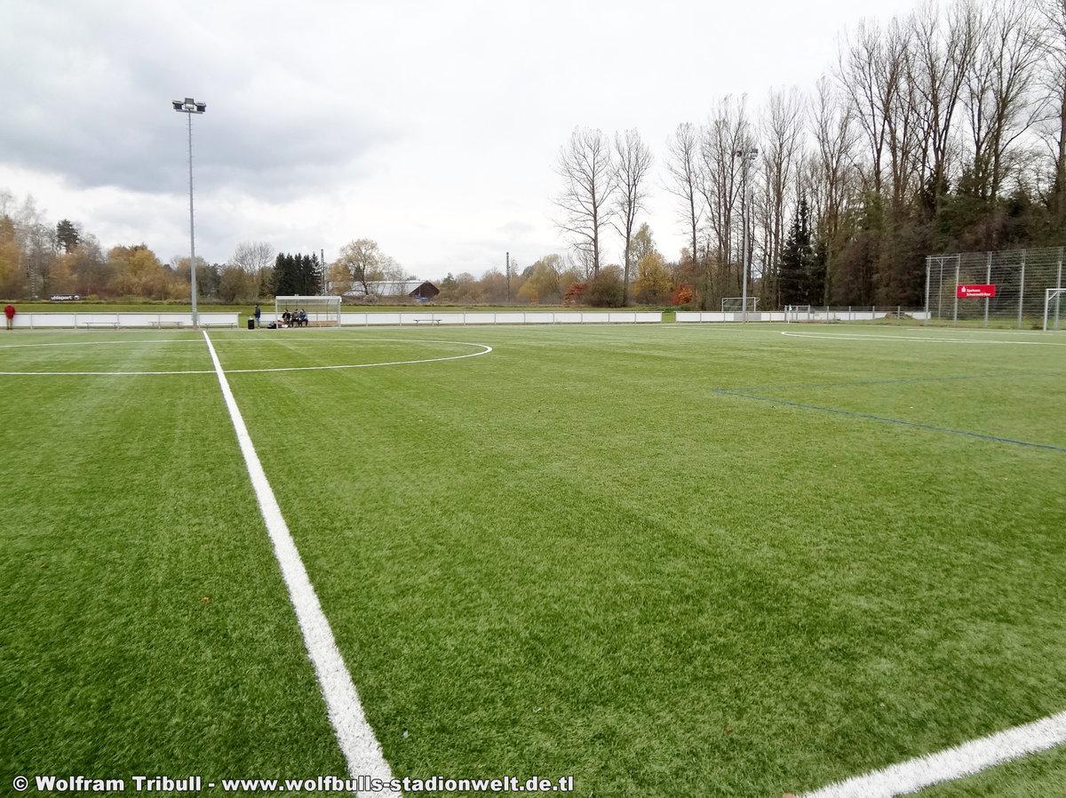 Sportgelände Allmendshofen Nebenplatz aufgenommen am 05. November 2017