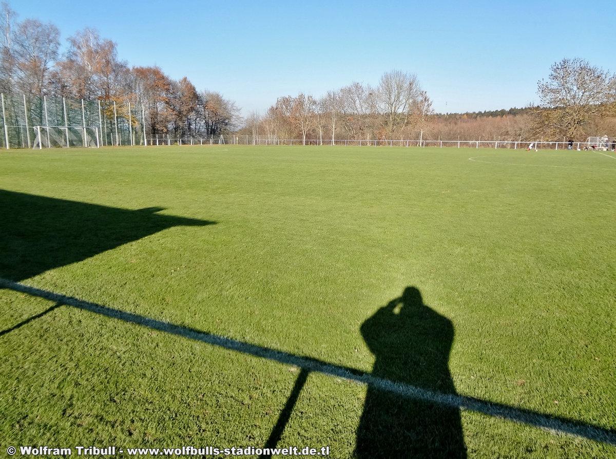 Sportgelände auf der Burg VS-Weilersbach aufgenommen am 18. November 2018