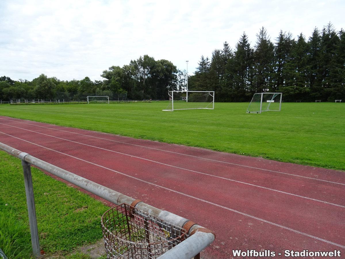 Sportplatz an der Reithalle Ihlienworth aufgenommen am 03. August 2020