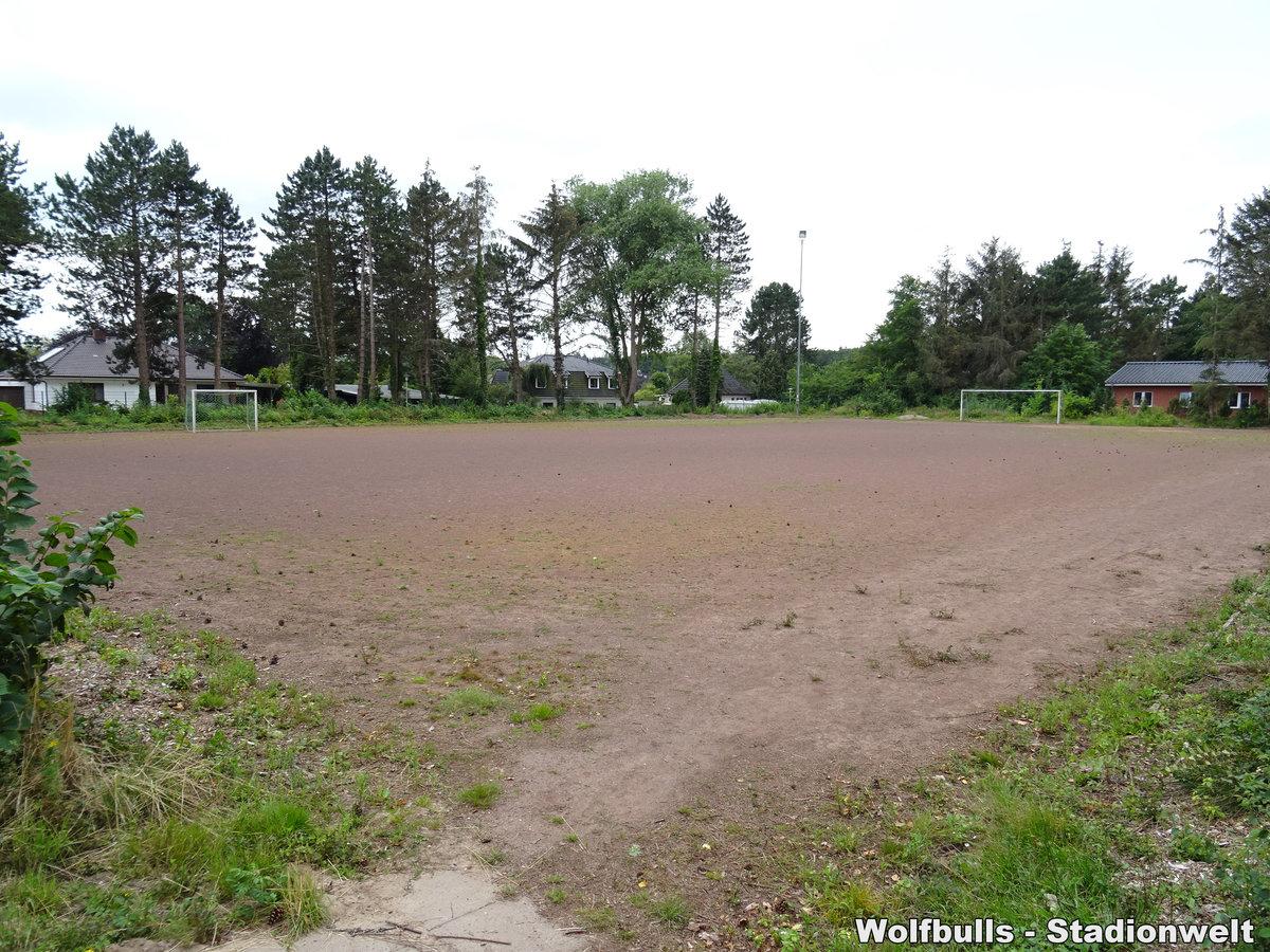 Sportplatz Geschwister-Scholl-Schule Platz 2 aufgenommen am 25. Juli 2020
