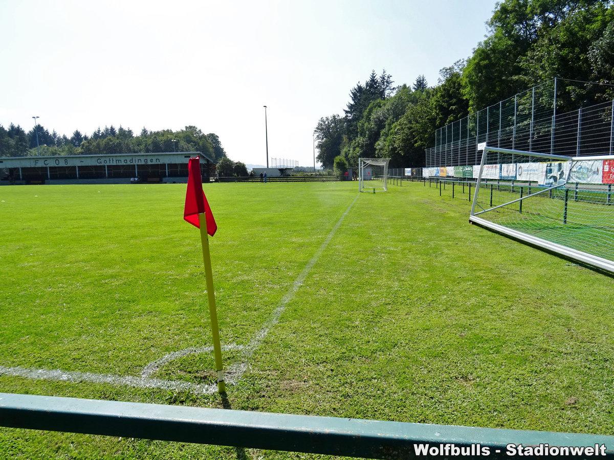 Sportplatz Katzental Gottmadingen aufgenommen am 24. August 2019