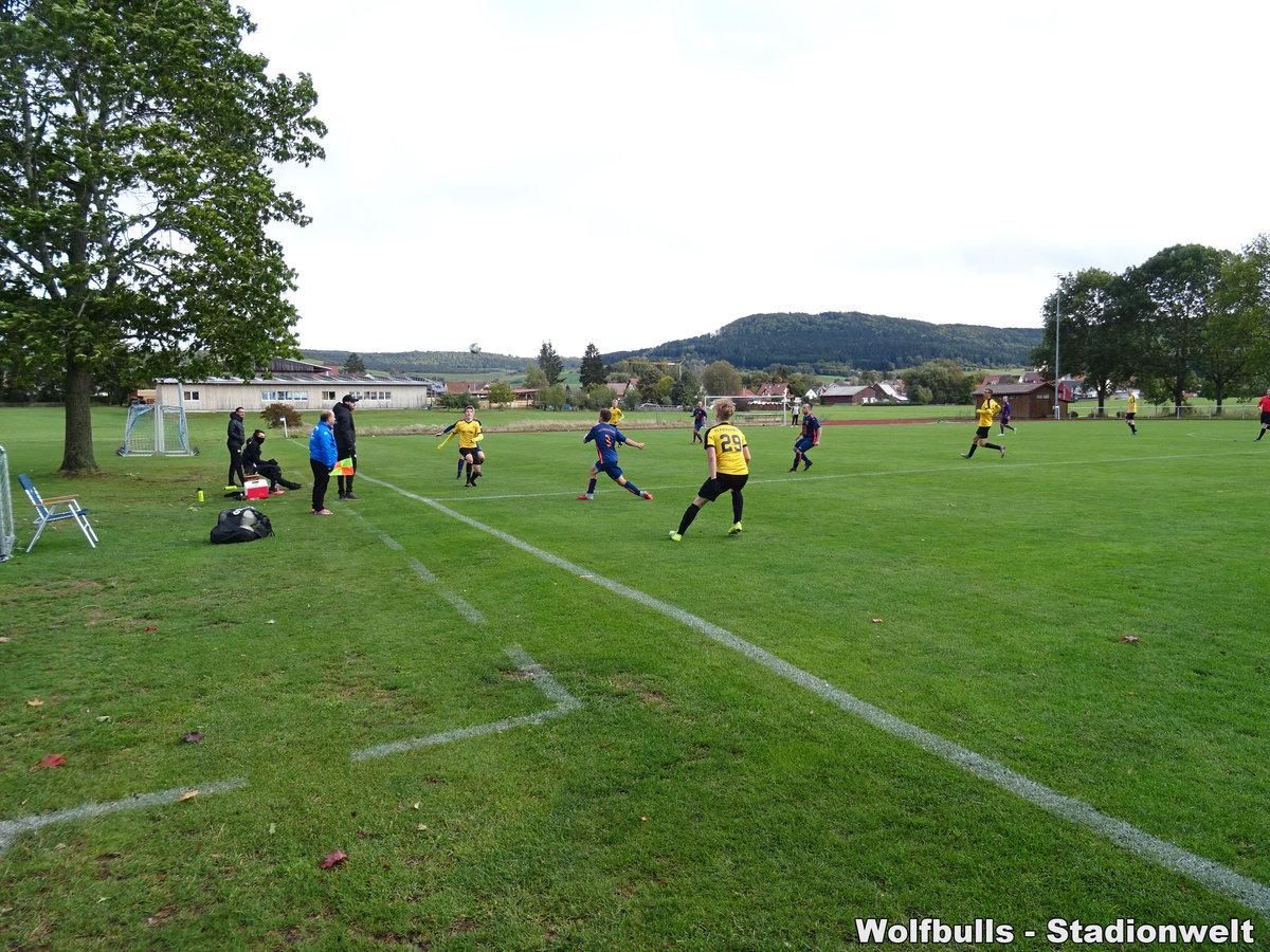 Sportplatz Oberbaldingen aufgenommen am 03. Oktober 2020