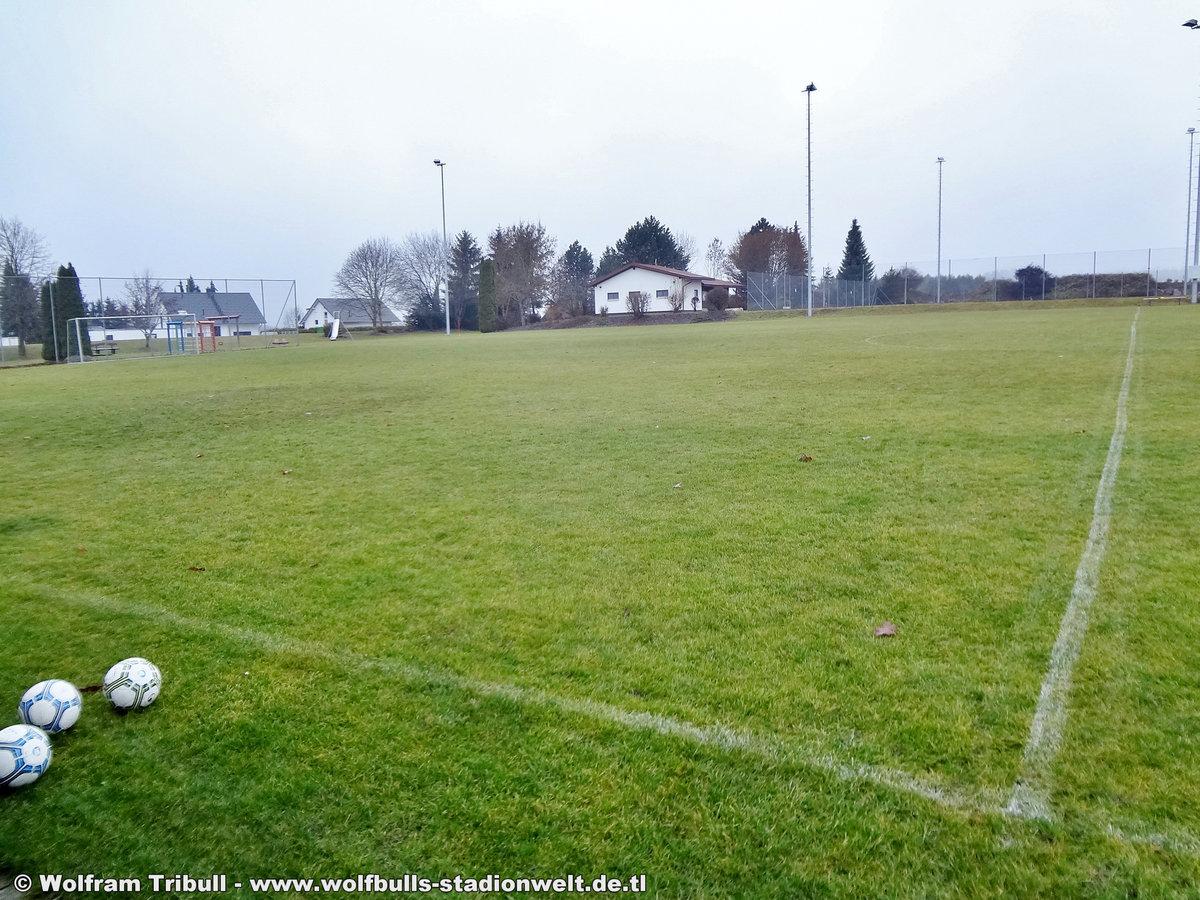Sportplatz Paradiesstraße Nebenplatz Bad Dürrheim-Hochemmingen aufgenommen am 02. Dezember 2018