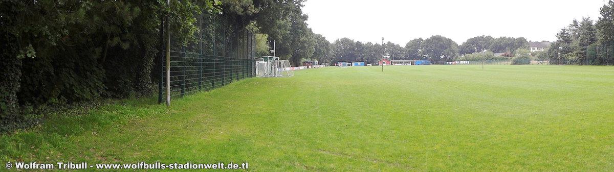 Sportplatz Sahlenburg aufgenommen am 08. August 2017