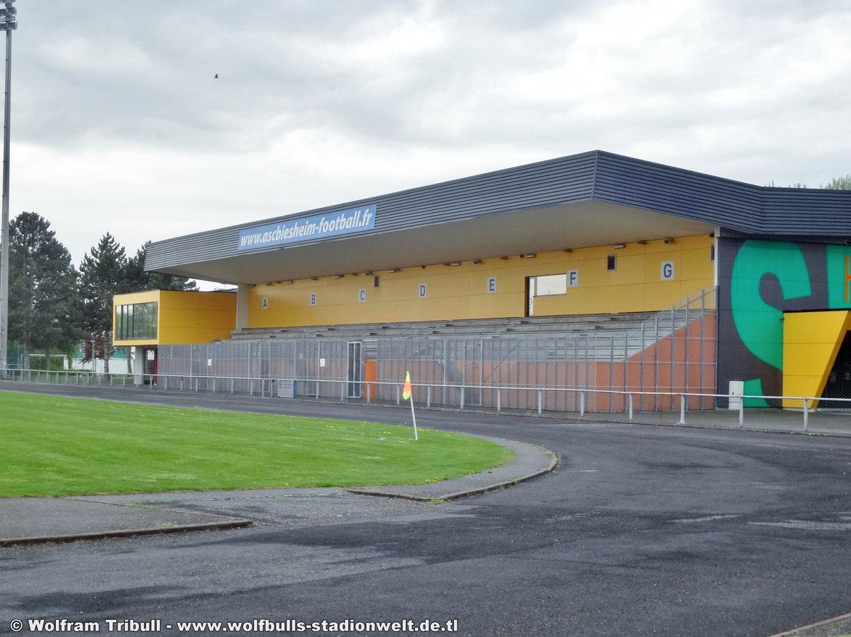 Stade Municipal Biesheim (Frankreich) aufgenommen am 23. April 2018