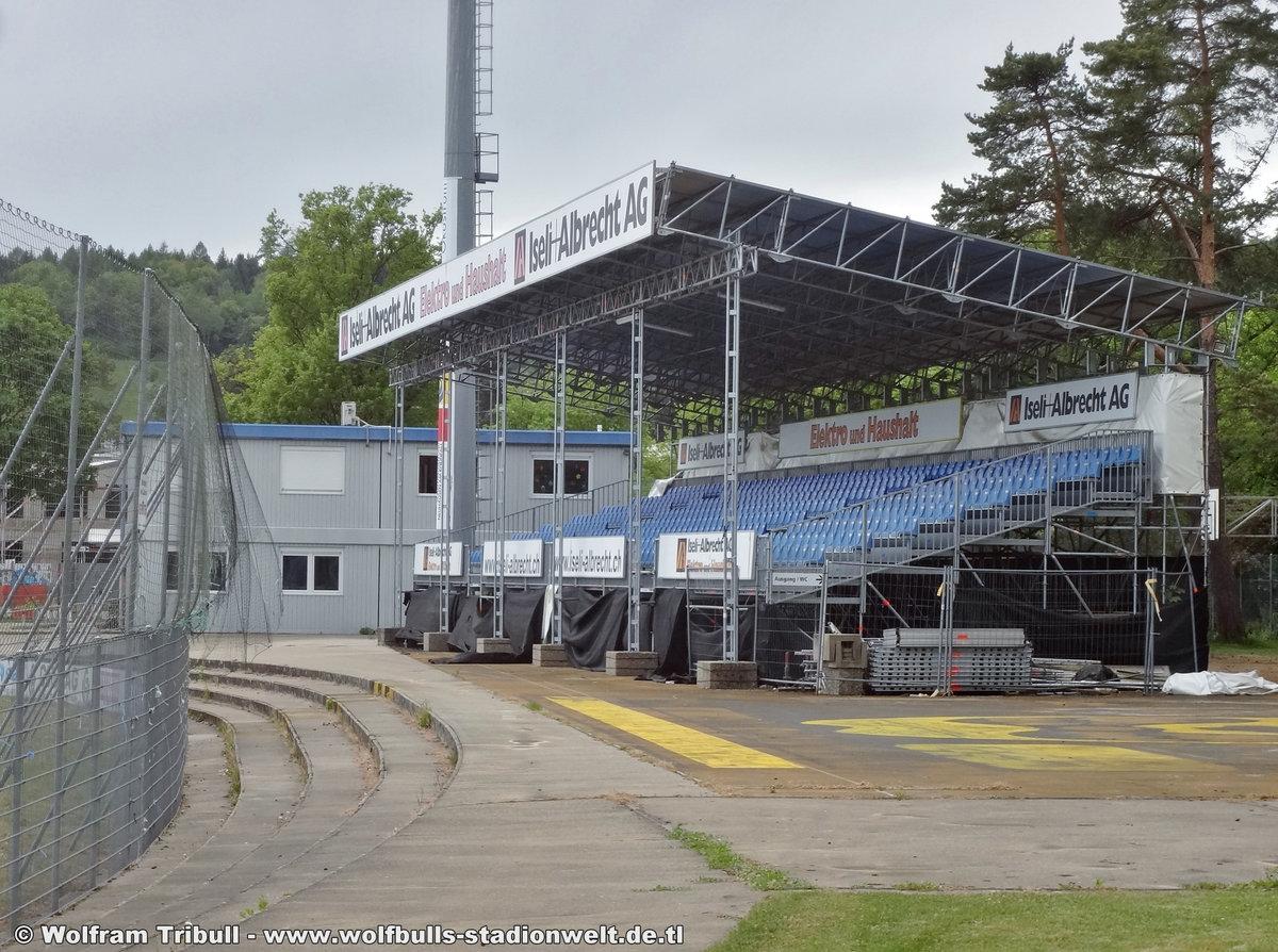 Stadion Breite Schaffhausen aufgenommen am 30. April 2018