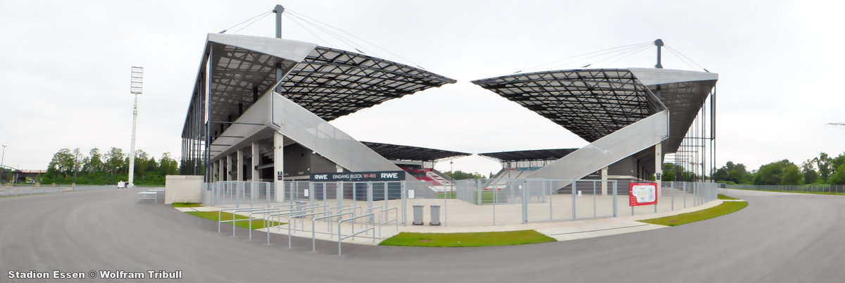 Stadion Essen aufgenommen am 02. Mai 2014