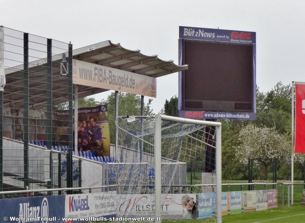 Stadion-Orsay Willstätt-Sand aufgenommen am 23. April 2018
